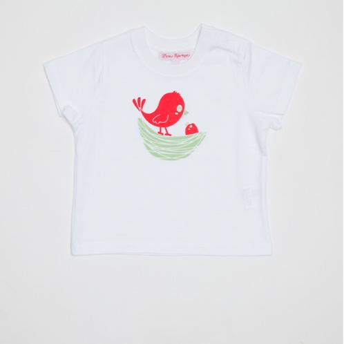 Camiseta Niño con Bañador