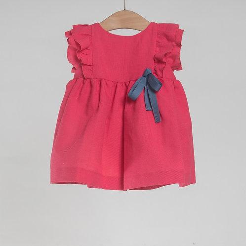 Vestido Fresa