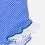 Thumbnail: Bañador Azul Puntos Blancos