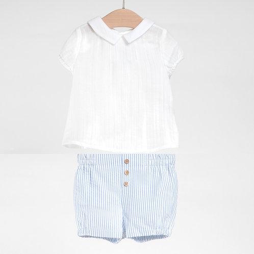 Conjunto de Bermuda y Camisa