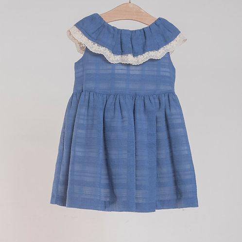 Vestido Azulón Gasa