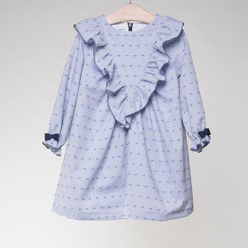 Vestido Plumetti Azul V