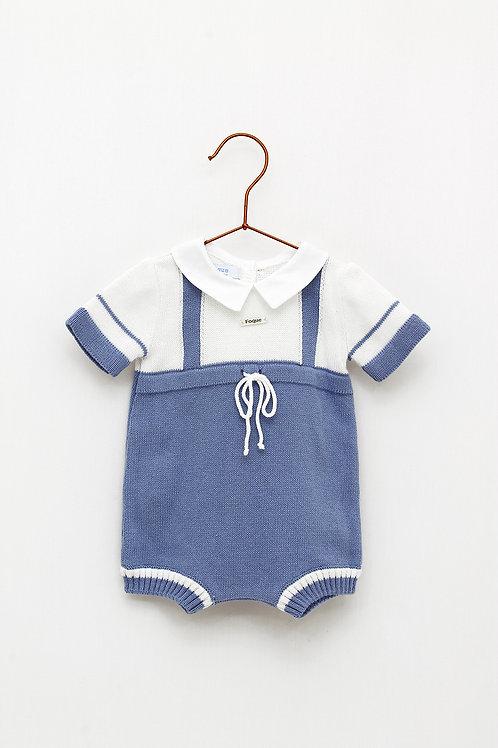 Body Bebé Marinero Azul