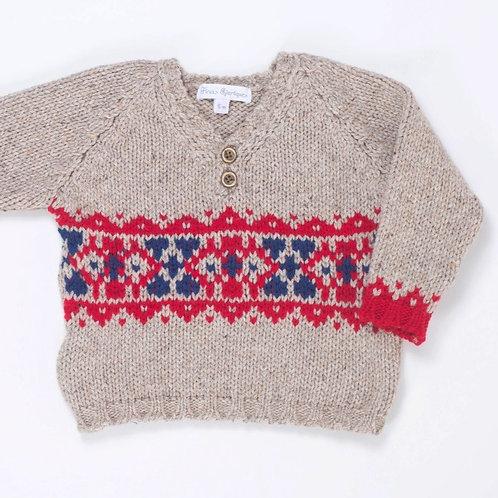 Suéter Rústico Greca