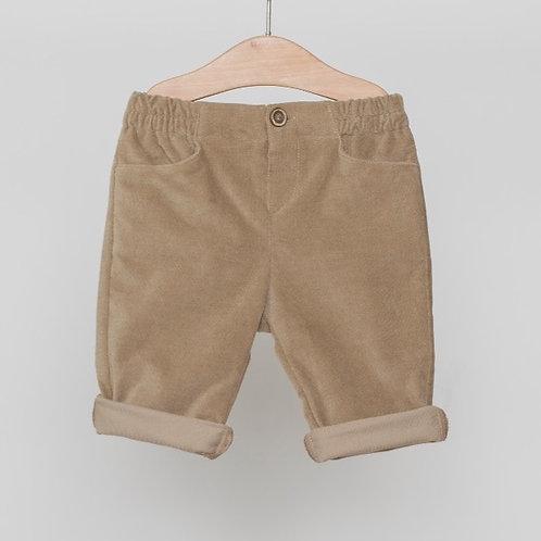 Pantalón Velvet Camello