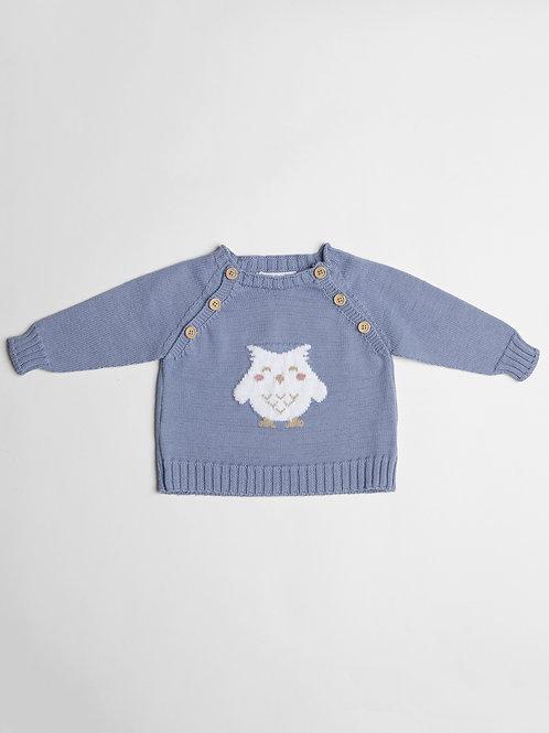 Suéter Azul Buho