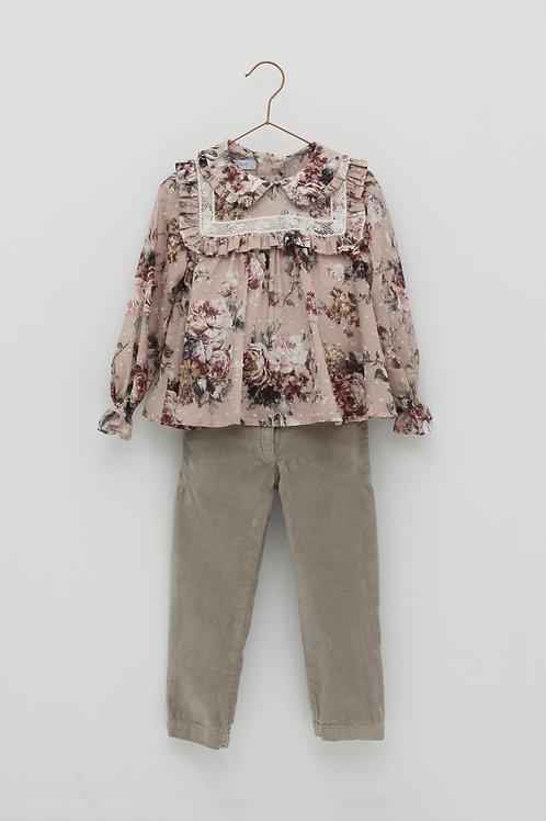 Conjunto de Blusa y Pantalón