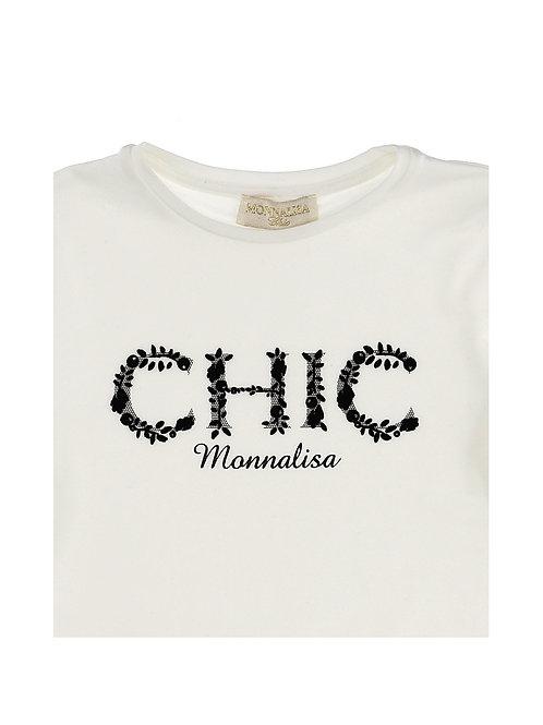 Camiseta CHIC Monnalisa