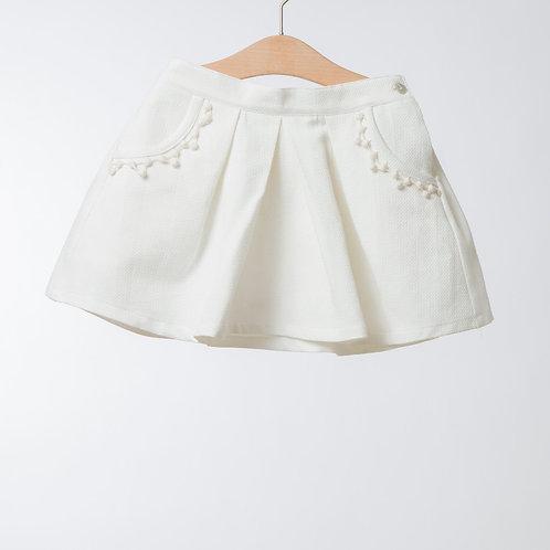 Falda de piqué