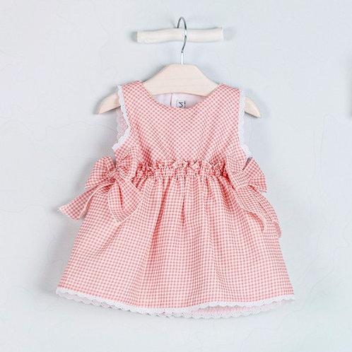 Vestido minivichy Coral