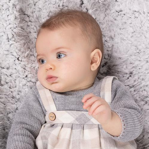 Vestido Bebé efecto pichi