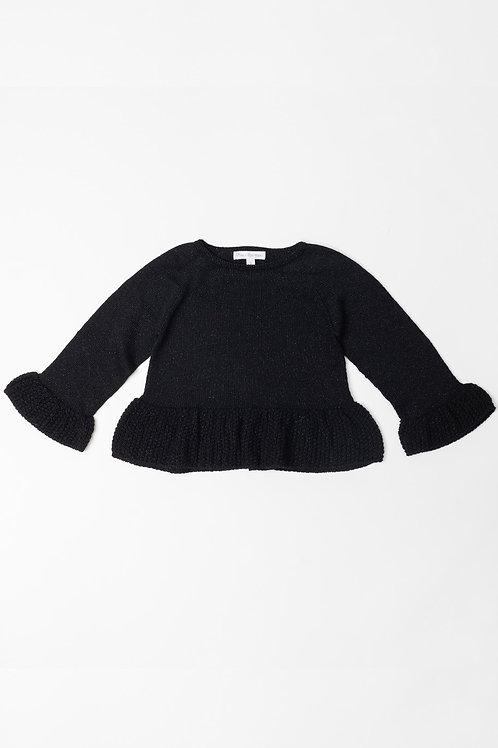 Suéter Lurex Negro