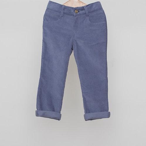 Pantalón pana con camisa