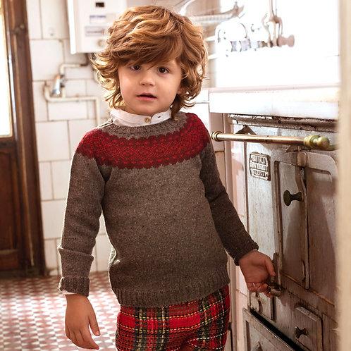 Suéter Greca Rústico