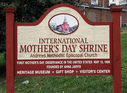 Mother's Day Shrine Sign