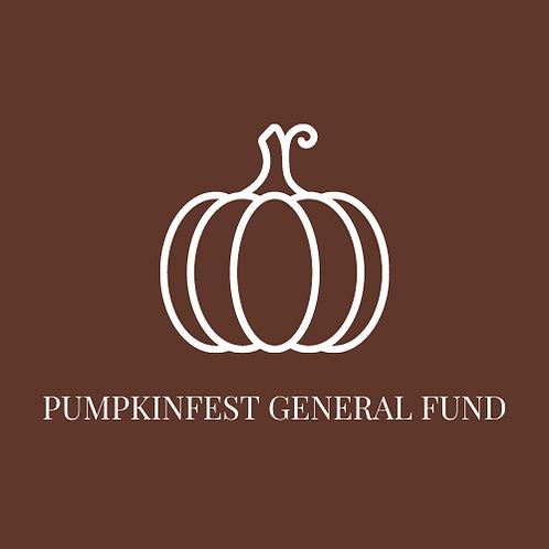 PumpkinFest General Fund
