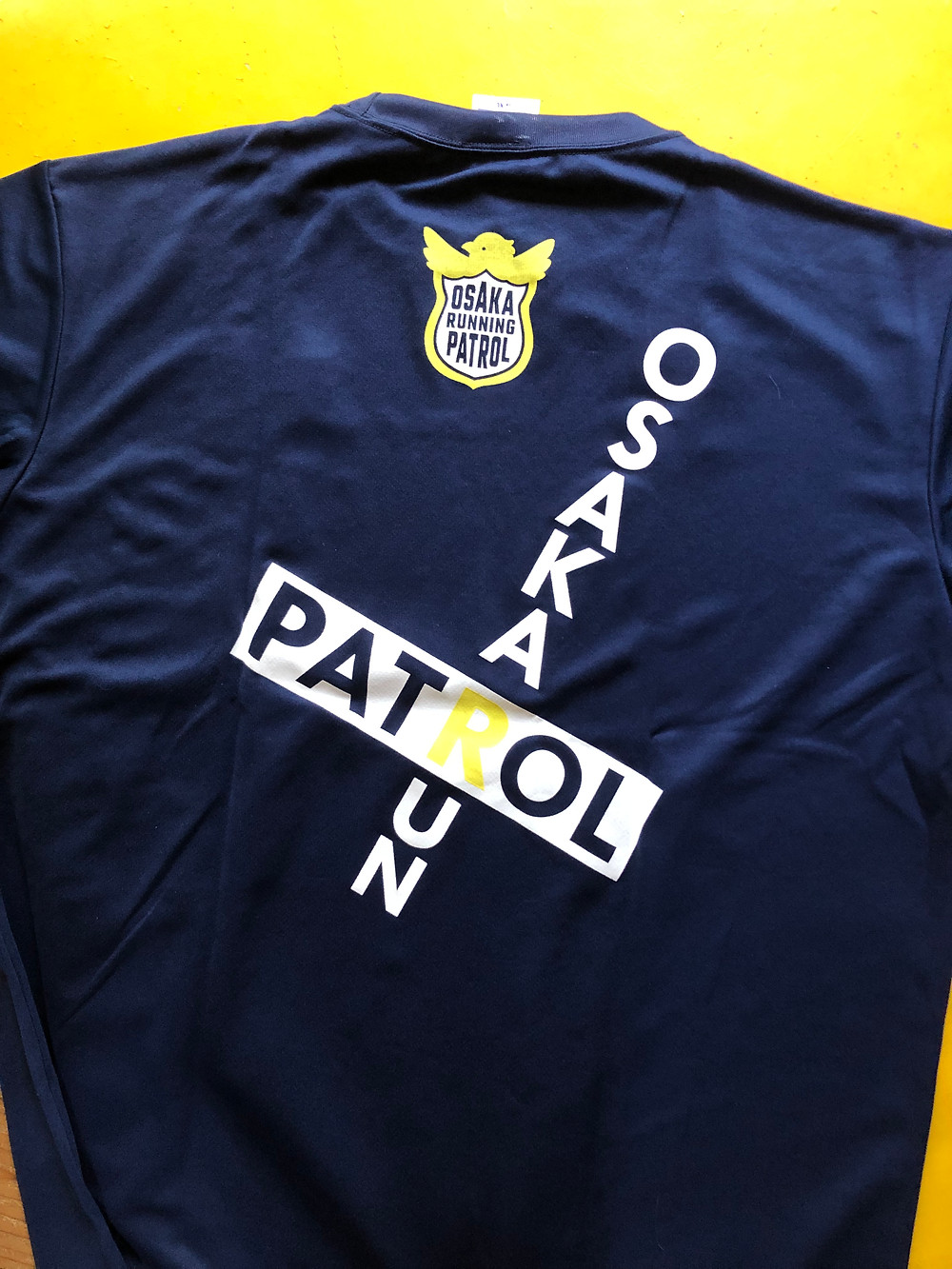 ランニングパトロールTシャツ