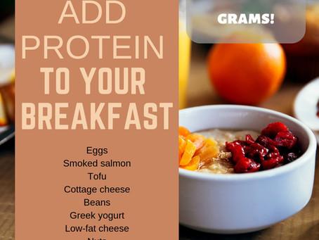10 Protein-Packed Breakfast Ideas