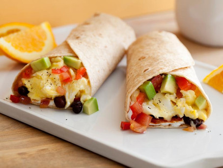 Quick & Easy Breakfast Burritos