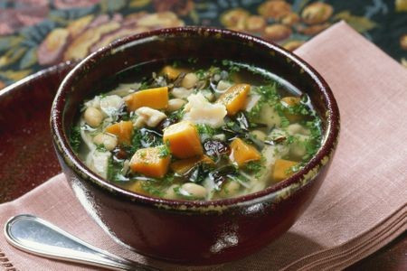 Hearty Vegetable Slow  Cooker Soup