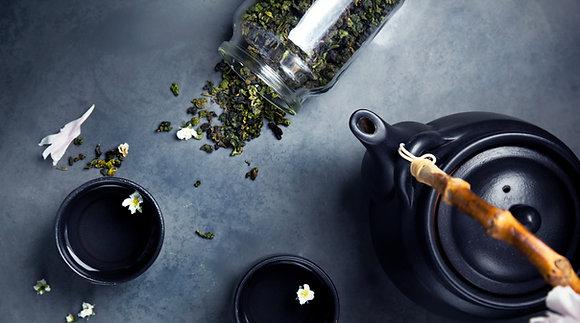 Flavored organic hemp and herbal teas