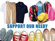 UNIFORM, SHOES & SCHOOL SUPPLIES DONATIO