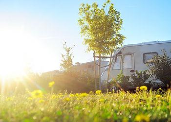 RV Solar Sun Shining