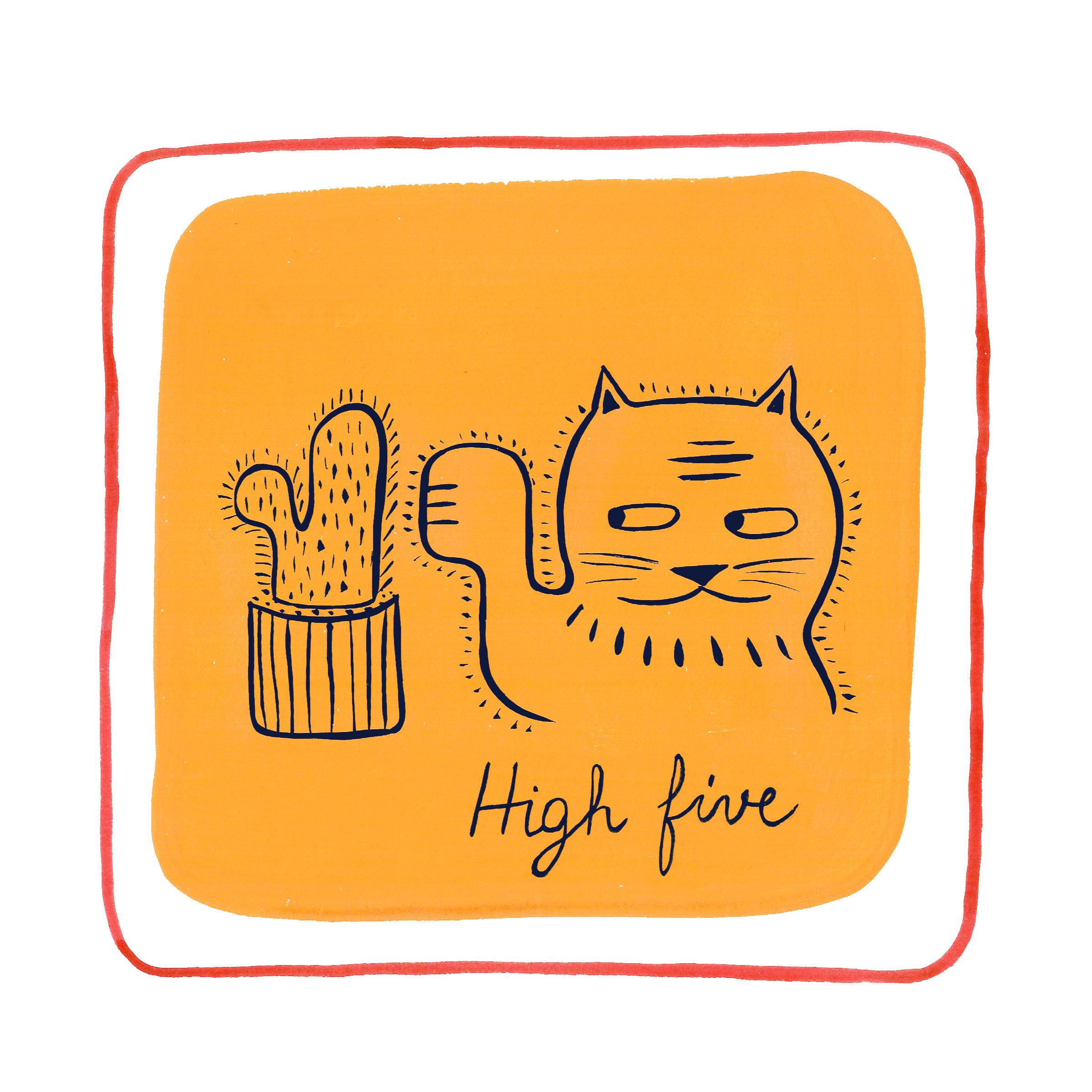 high-five-elodie-perrotin