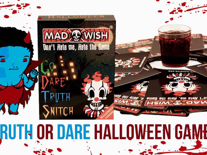 30 HALLOWEEN PARTY TRUTH OR DARE QUESTIONS