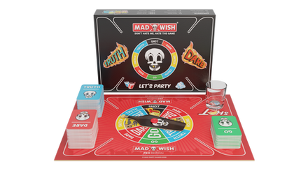Truth or dare king of party games box co