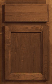 Hampton Square Sable Stained Finish Cabinet