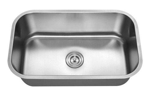 Standard Radius SIngle Bowl Undermount Sink