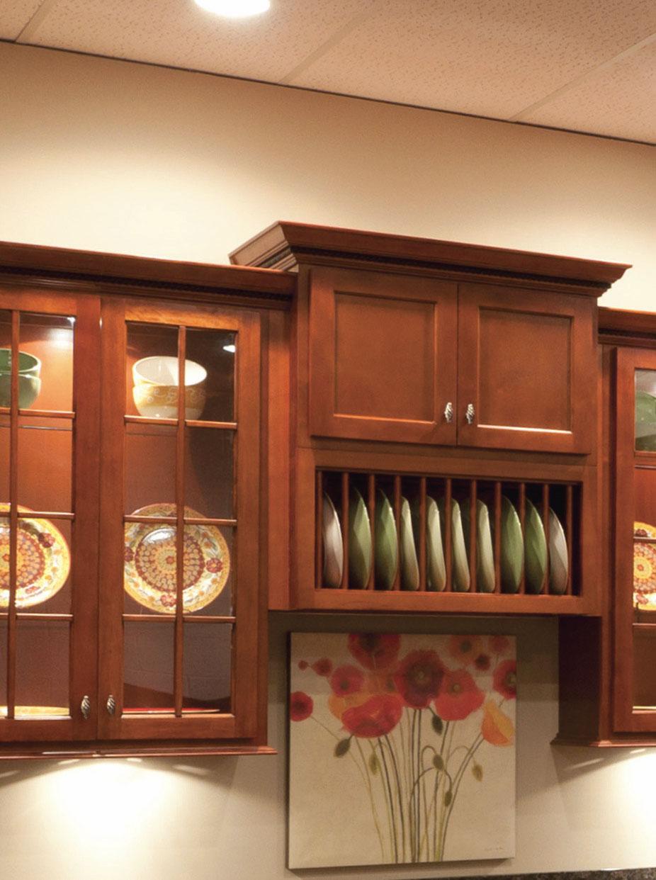 Shaker Cherry Cabinets