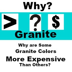 Granite cost, why is some granite more expensive than others, granite prices, how much is granite, exotic granite countertops