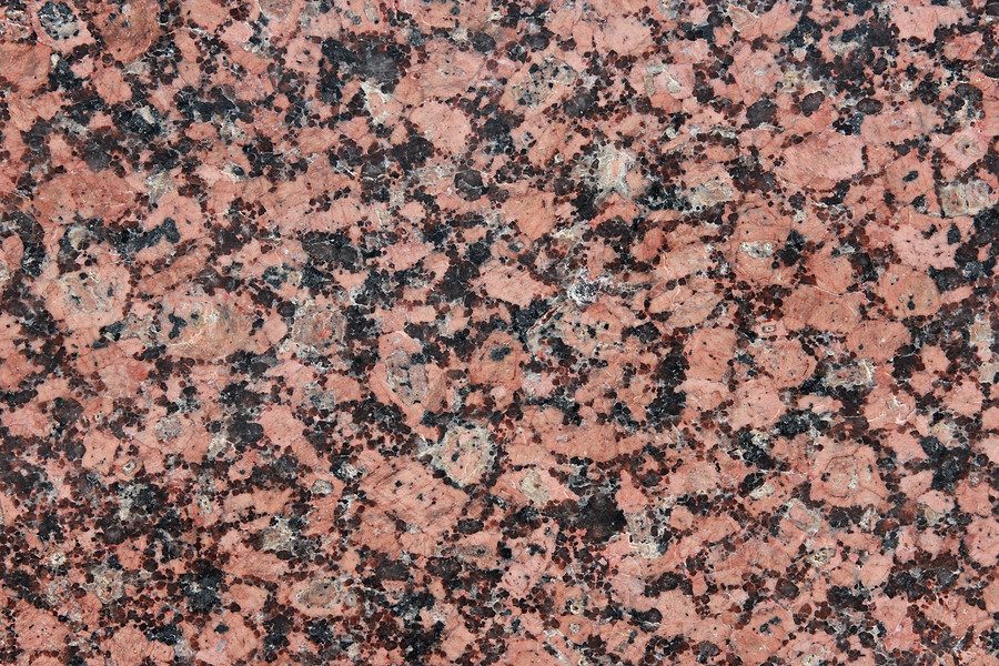 Granite countertop color demonstration of chipped edge to be repaired