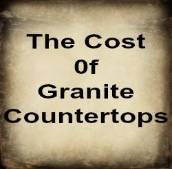 Cost of Granite Countertops