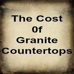 Granite countertops, cost of granite countertops, how much are granite countertops,