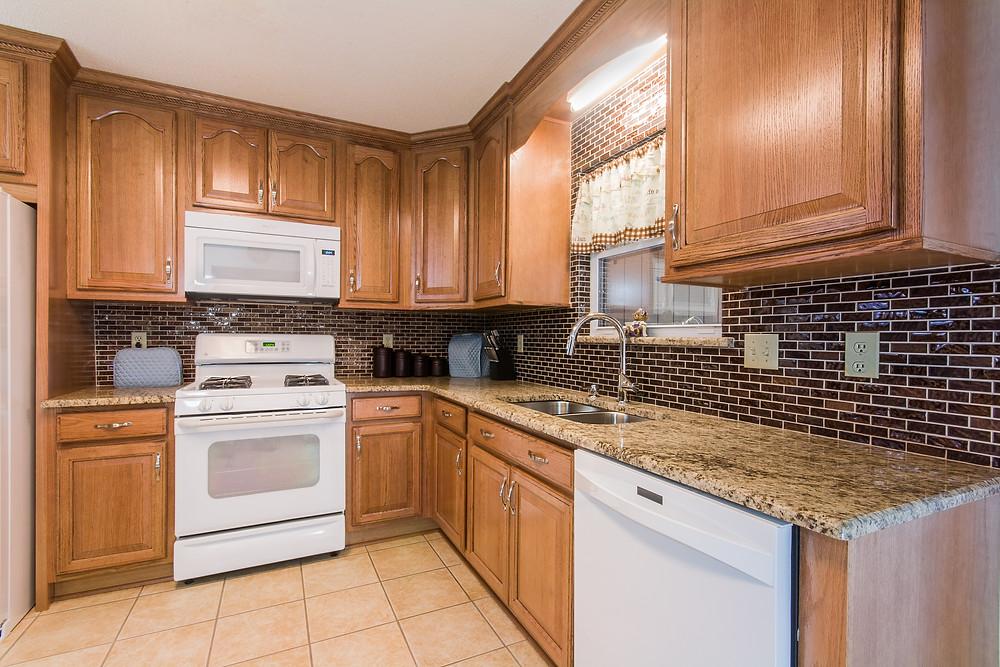 Remodeled kitchen in Niceville Florida