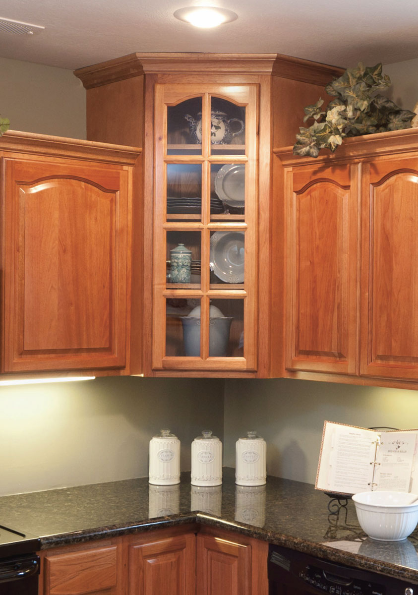 Hickory Cabinet Mullion Door
