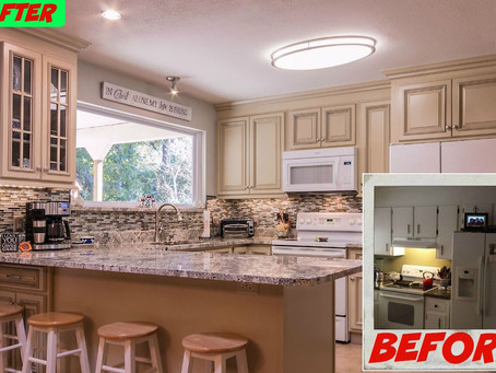 Recent Kitchen Remodels Along Florida's Emerald Coast