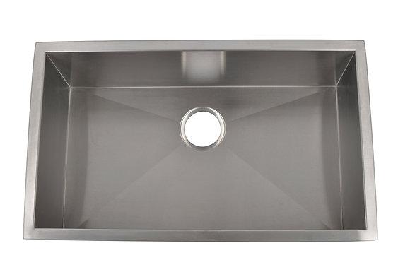 Micro Radius Single Bowl Sink