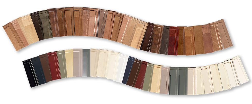 Kitchen cabinet door colors
