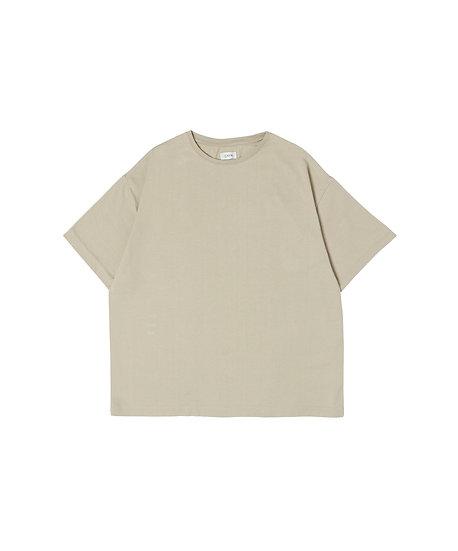 30/2吊り天竺半袖Tシャツ レディース