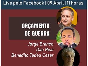 ASSISTA O DEBATE SOBRE ORÇAMENTO DE GUERRA