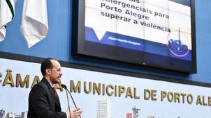 VEREADOR  KOPITTKE PROPÕE DEBATE SOBRE A VIOLÊNCIA