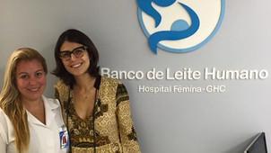 Manuela D'Ávila faz visita ao Banco de Leite do Hospital Fêmina