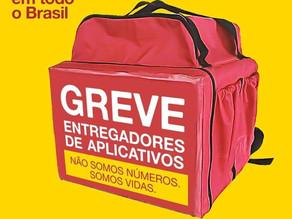 COMITÊ EM DEFESA DEMOCRACIA PUBLICA NOTA DE APOIO AO MOVIMENTO DOS ENTREGADORES DE APLICATIVOS