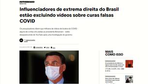 """MATÉRIA DA REVISTA """"VICE"""" DENUNCIA BOLSONARISTAS POR APAGAREM RASTROS DAS FAKE NEWS SOBRE A COVID-19"""