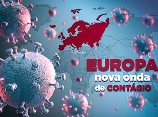 SEGUNDA ONDA DE CORONAVÍRUS CHEGA À EUROPA E ATINGE FRANÇA, ESPANHA, PORTUGAL E REINO UNIDO