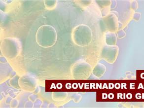 CARTA AO GOVERNADOR E AOS PREFEITOS DO RS PEDE PROTEÇÃO AOS FUNCIONÁRIOS QUE SEGUEM TRABALHANDO